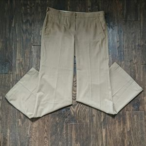 Theory Elkers Tan Wool Trouser